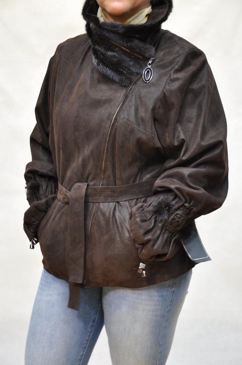 Кожаная Куртка Большого Размера Женская Купить