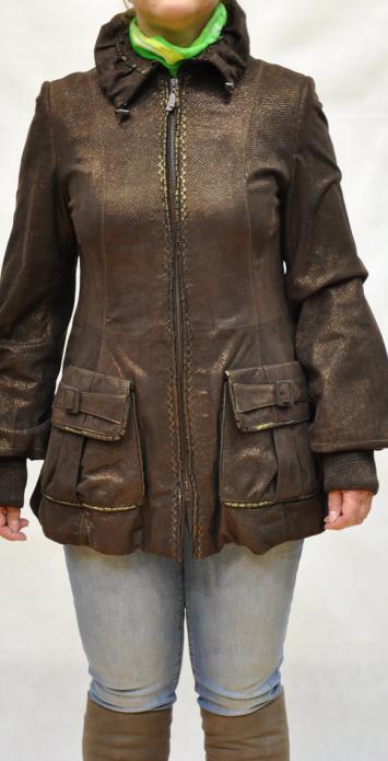 женские куртки из мягкой замши