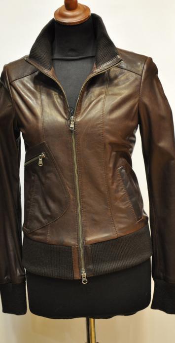 кожаная куртка из кожи выделки вижиталь
