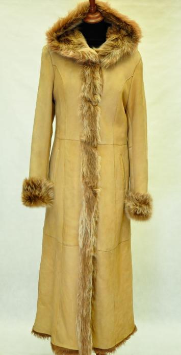 Длинные дубленки женские, тоскана