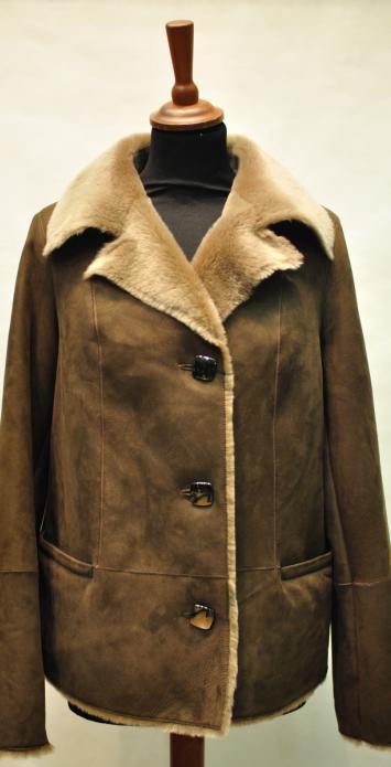 дубленка женская пиджак