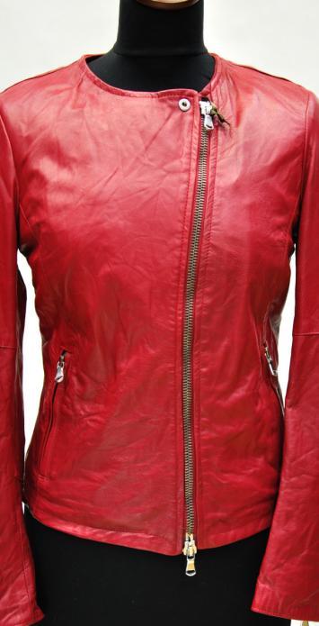 стиранная кожаная куртка