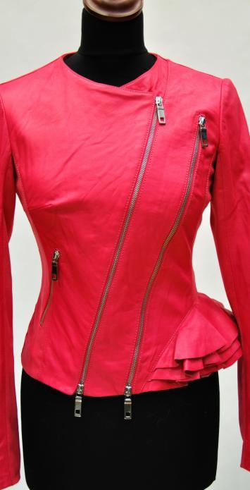 Кожаные куртки с баской