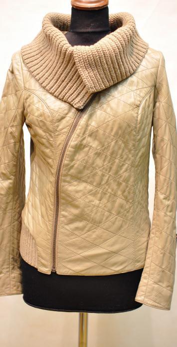 кожаная куртка косуха женская