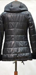 утепленная куртка из кожи