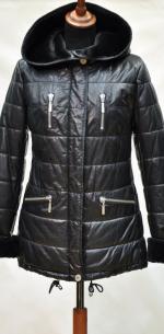 кожаная куртка укороченная