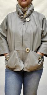 Куртка женская большого размера свободного покроя