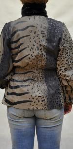 замшевая куртка с покрытием