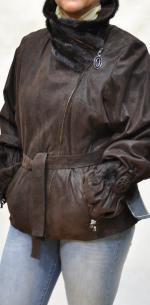 замшевая куртка на большие размеры