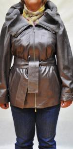 кожаные куртки женские больших размеров