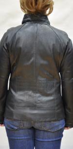кожаная куртка на женщин