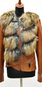 модная куртка жилетка на больших