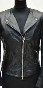 брутальная кожаная куртка