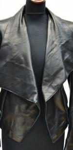 модная куртка из кожи