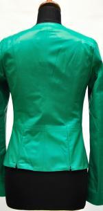 женская кожаная куртка весна