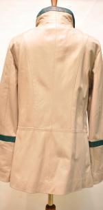 весенний пиджак с контрасными вставками
