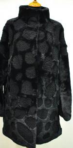 Модная мутоновая шуба