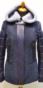 Куртка - пилот комбинированная