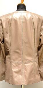 куртка с вставками замши