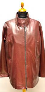 куртка на молнии бордо